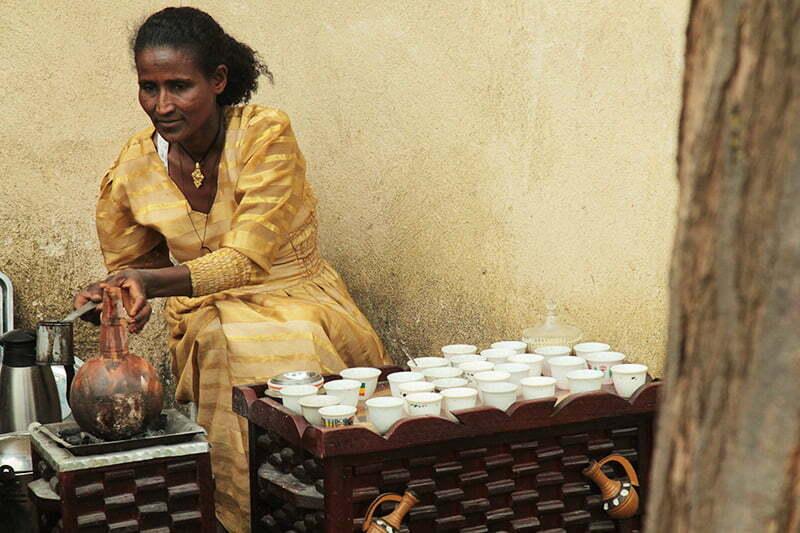 Nord-Äthiopien Tipp: Eine Kaffeezeremonie