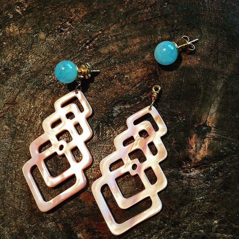 Carlchen B: Ohrringe mit austauschbaren Steckern