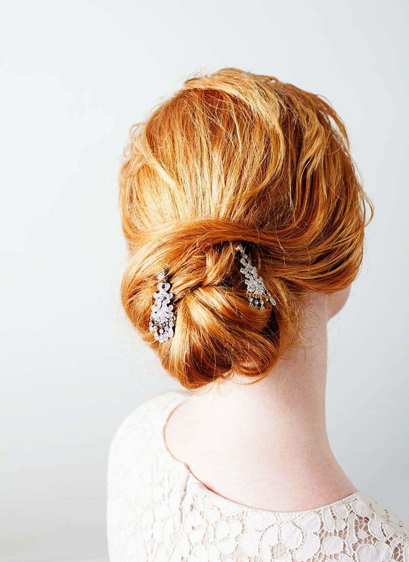 Eleganter Haarschmuck zur Hochzeit