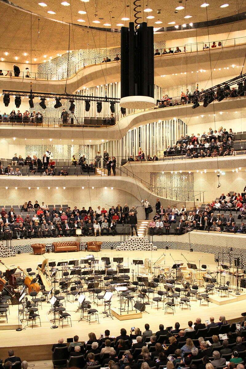 Der große Saal der Elbphilharmonie: Geniale Akustik