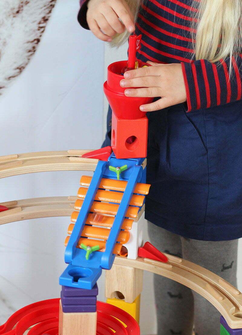 """Unsere Hape Kugelbahn """"Super Spiralburg"""""""