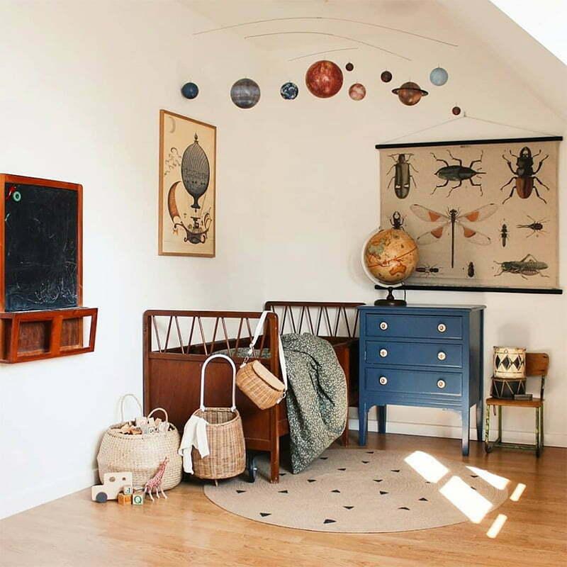 Wohntrends 2020: Retro-Kinderzimmer von Majken Thrane