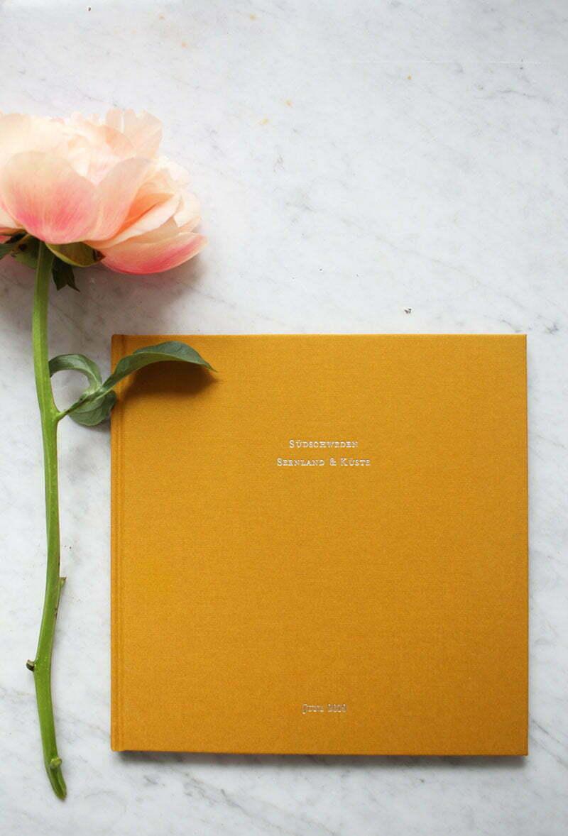 Atelier Rosemood: Fotobuch mit Stoffeinband