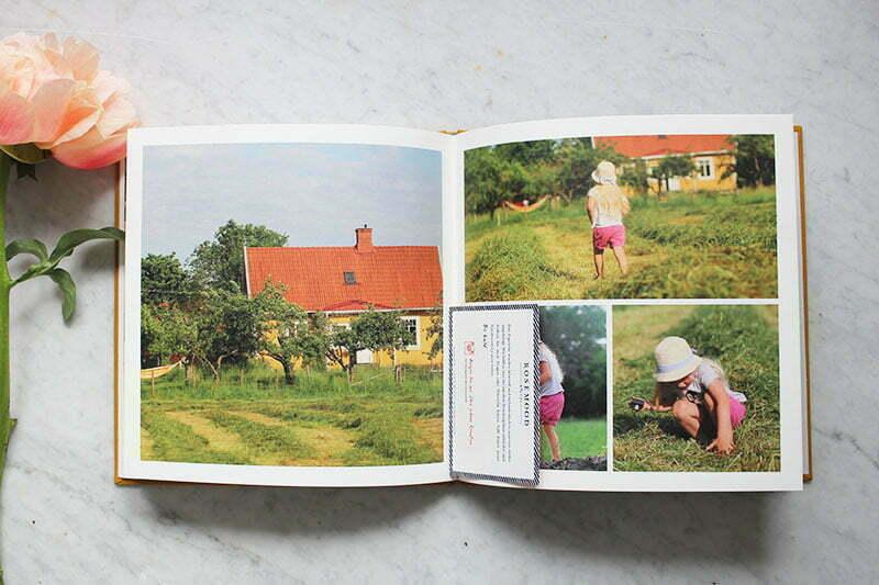 Unser Fotobuch mit Stoffeinband vom Atelier Rosemood