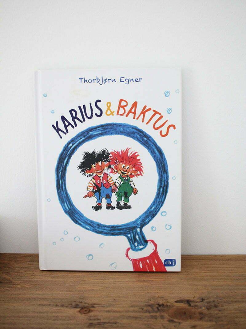 Kinderbuch-Klassiker bis 6 Jahren: Thorbjørn Egner - Karius & Baktus