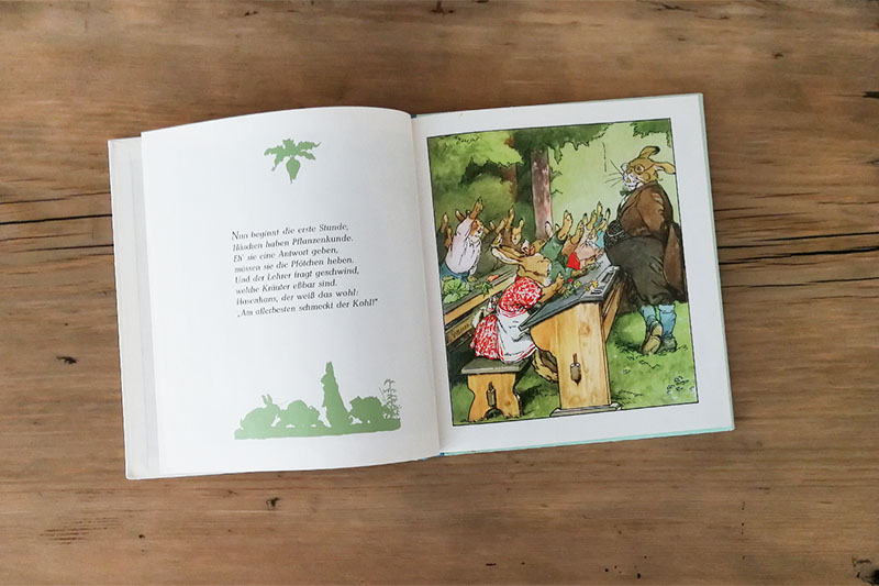 Kinderbuch-Klassiker bis 6 Jahren: Albert Sixtus/Fritz Koch-Gotha - Die Häschenschule