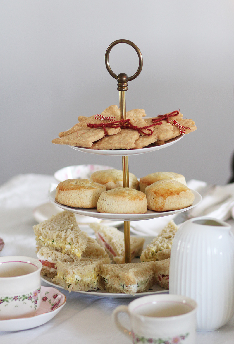 Afternoon Tea: Der Aufbau der Etagere
