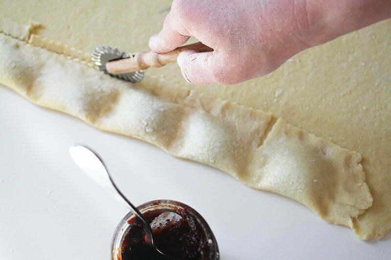 Perky: Teigtaschen mit Pflaumenmus