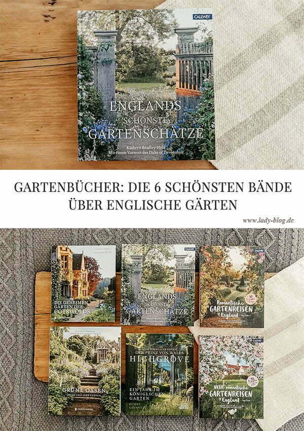 Die 6 schönsten Gartenbücher