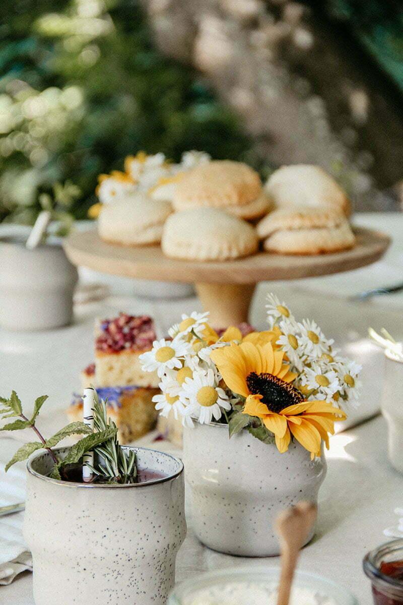 Eine Tea Time im Sommer - unsere Rezepte!