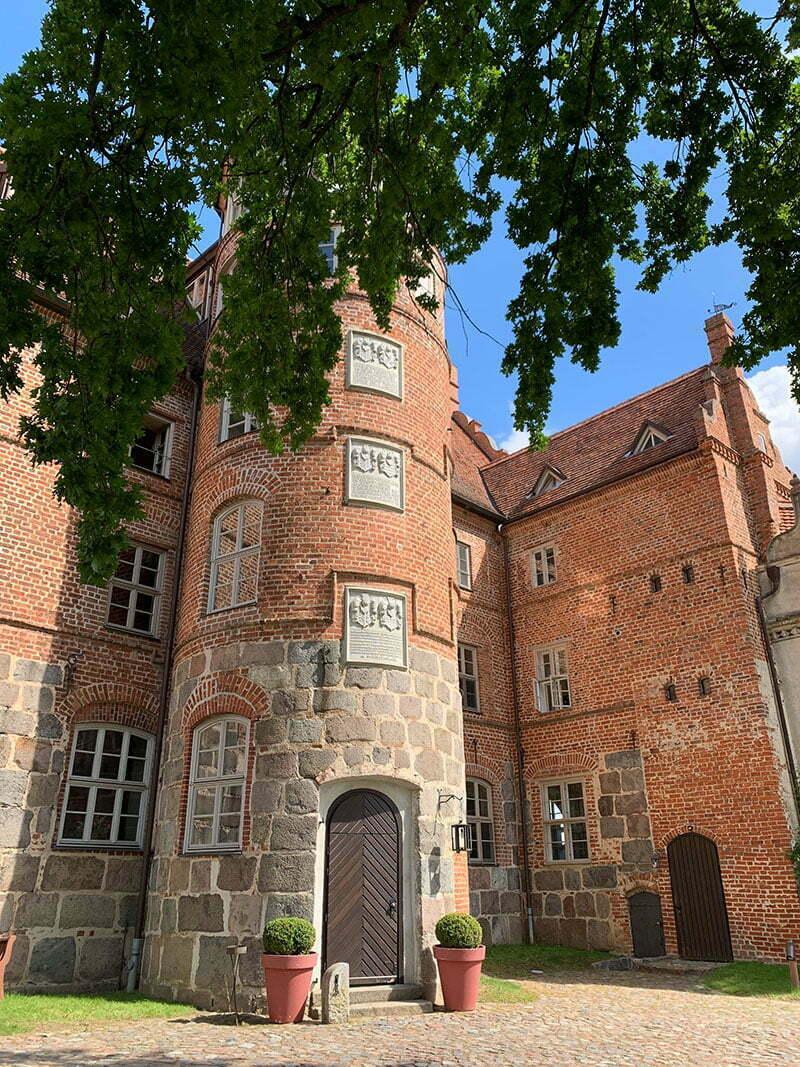 Radtour zum Schloss Ulrichshusen