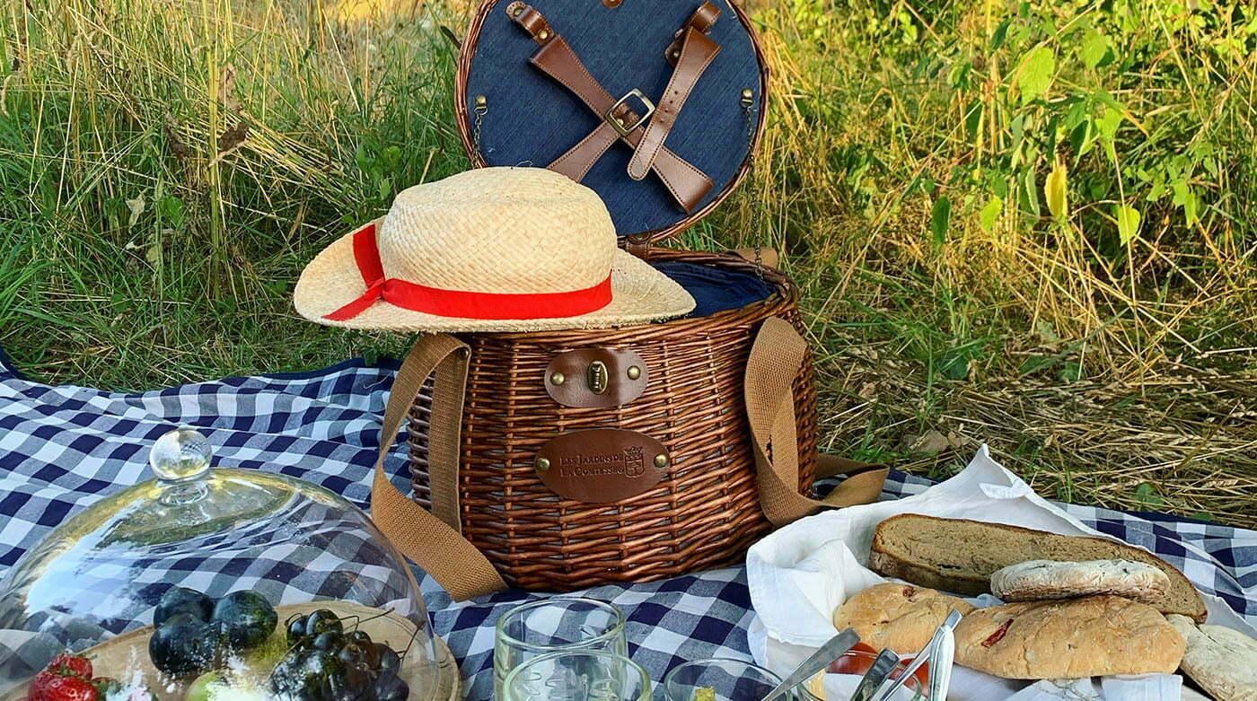 Ein Picknick im Schlossgarten mit Gustavia Shop