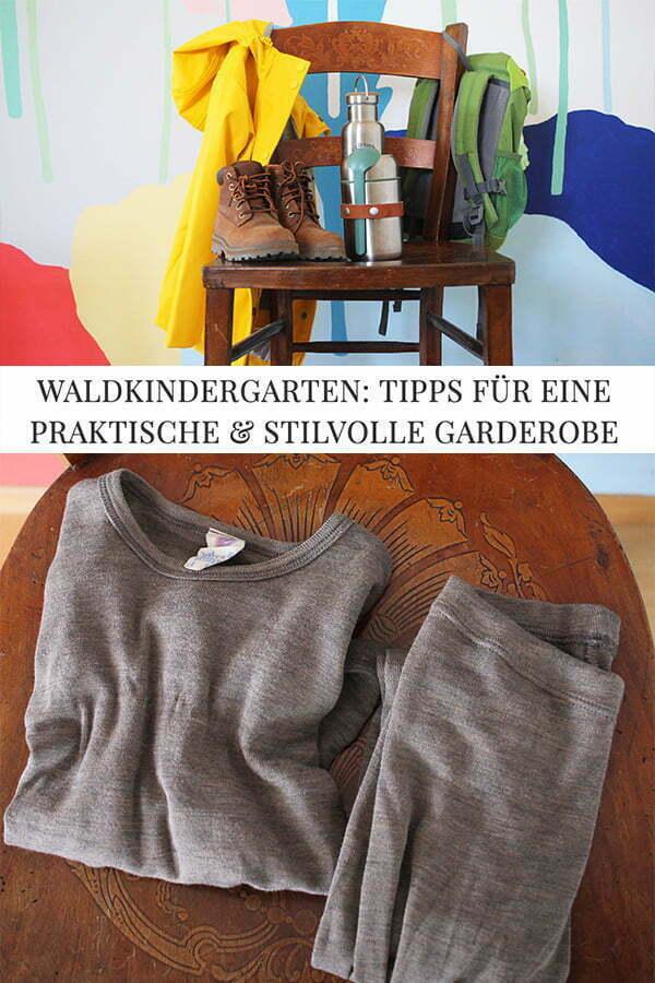 waldkindergarten Garderobe