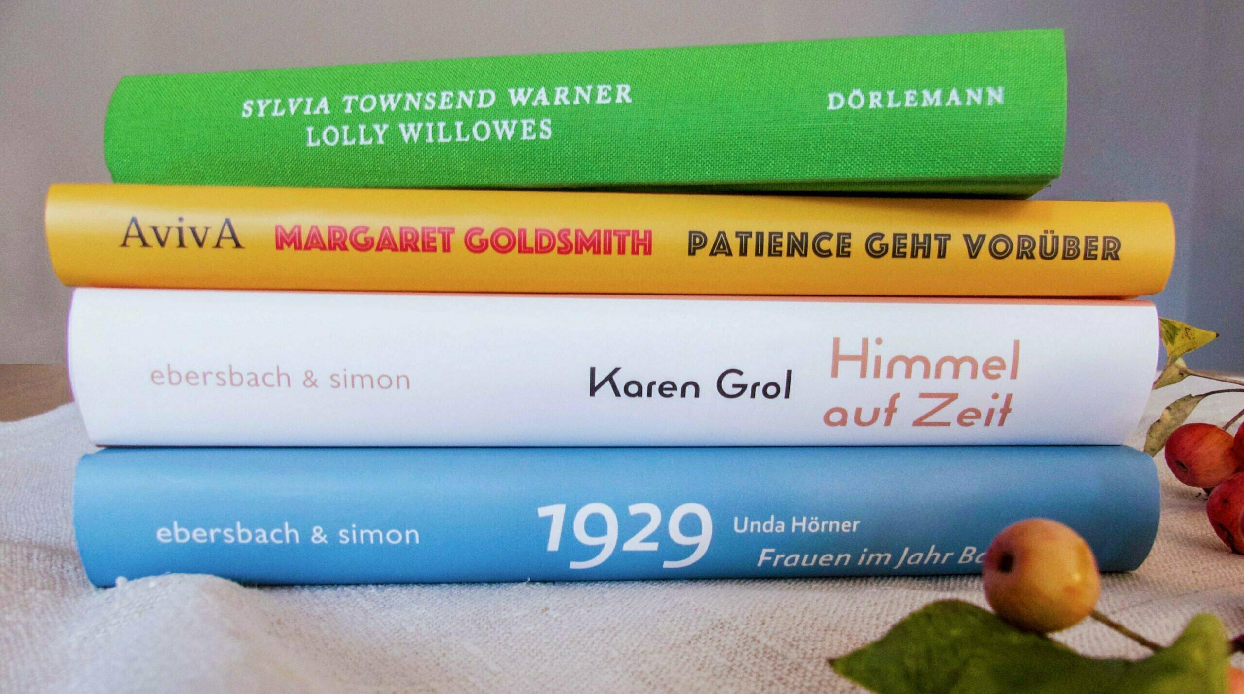 #Stayathomereadabook: Unsere Bücher für den Herbst