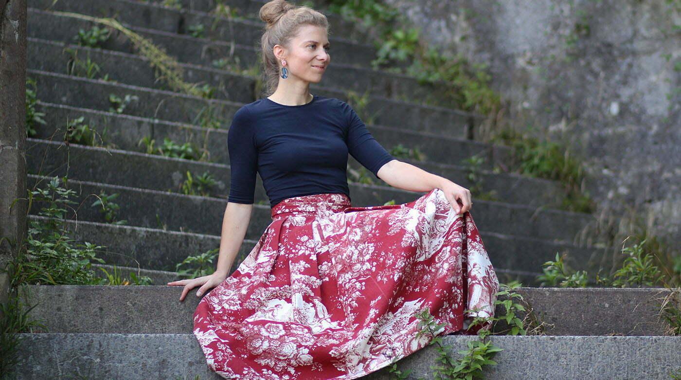 Outfitpost: Ein Look mit meinem selbstgenähten Lady-Rock