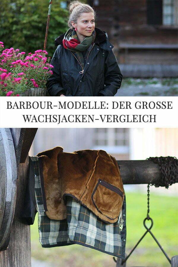 Barbour Wachsjacken Vergleich