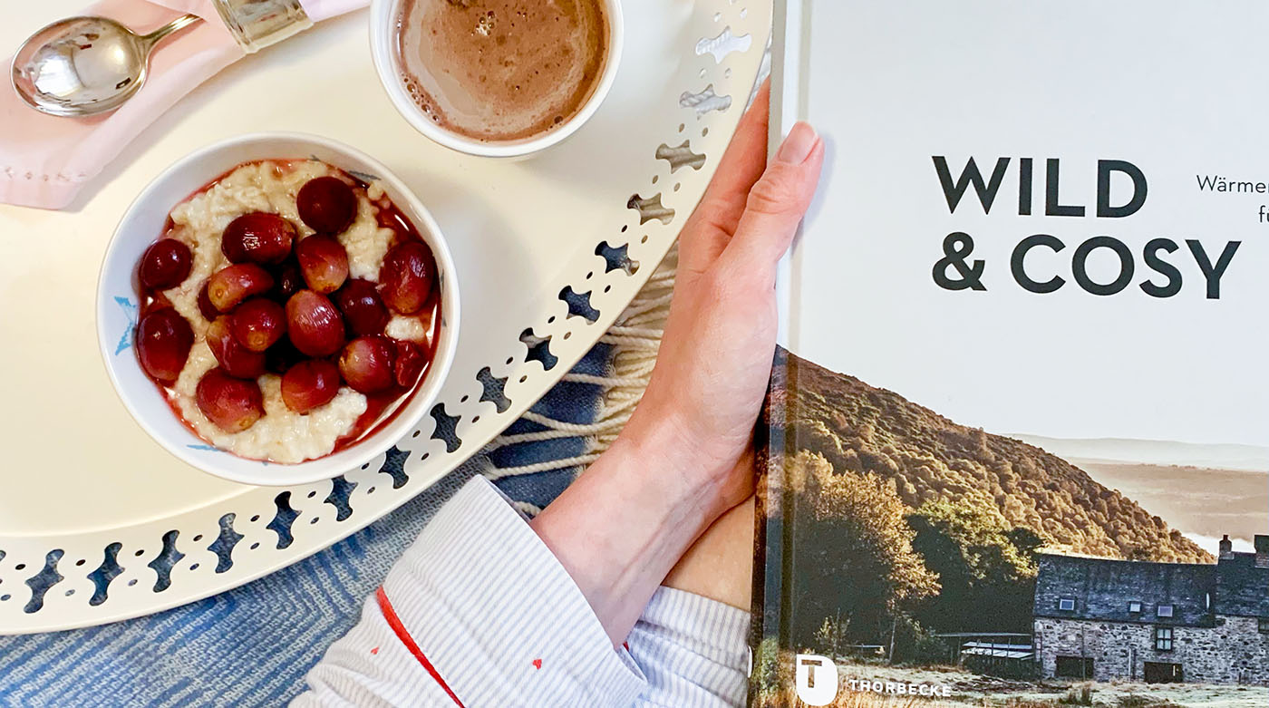Wild & Cosy: Ein Porridge-Rezept mit Weintrauben und Whisky