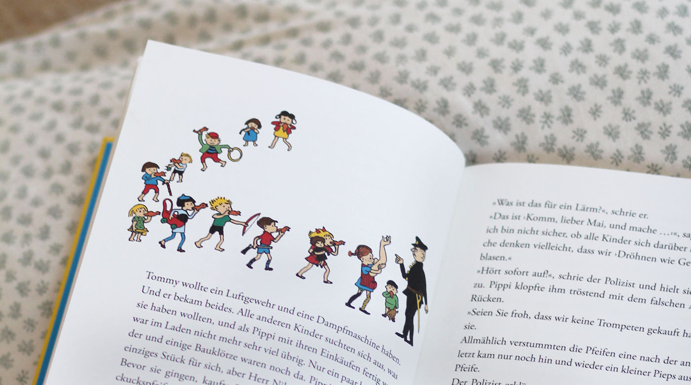 Ingrid Vang Nyman: Die schönsten Pippi Langstrumpf Illustrationen