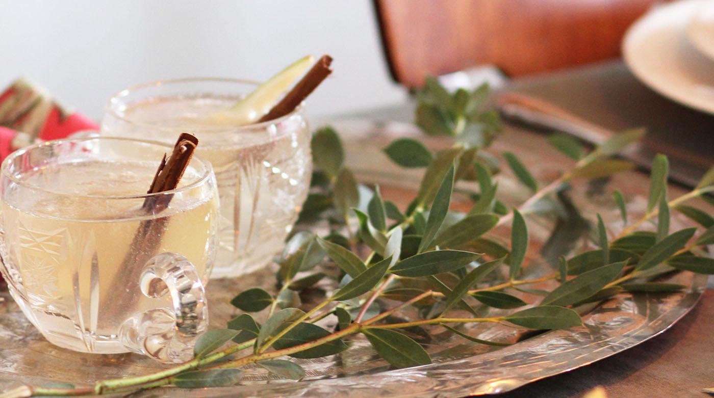 Champagner-Gin-Cocktail: Unser Salon-Drink für die Festtage
