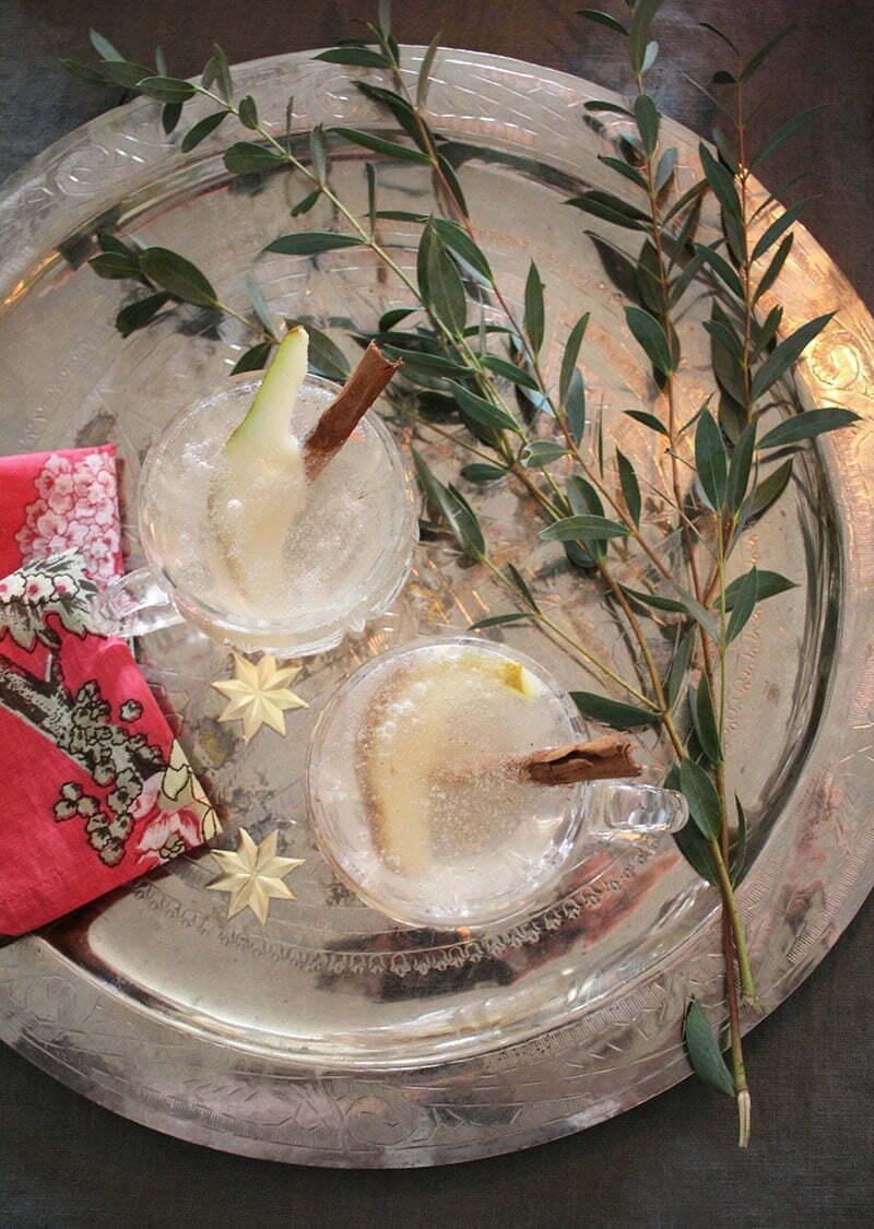 Champagner-Gin-Cocktail: Ein Drink für die Festtage