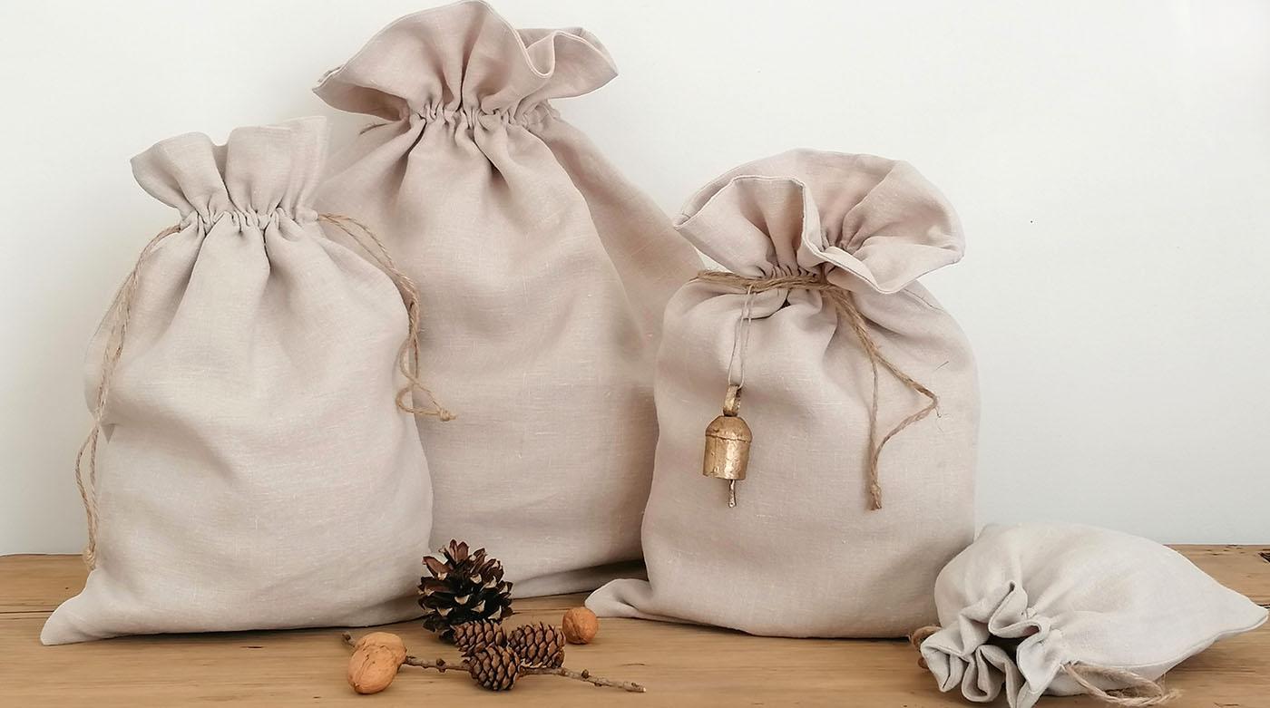 DIY: Nachhaltige Weihnachtssäckchen nähen