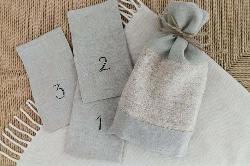 Weihnachtssäckchen: Geschenke nachhaltig verpackt