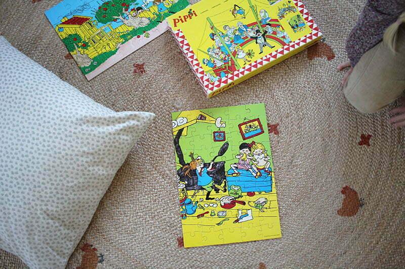 Pippi Langstrumpf Puzzle von Ingrid Vang Nyman