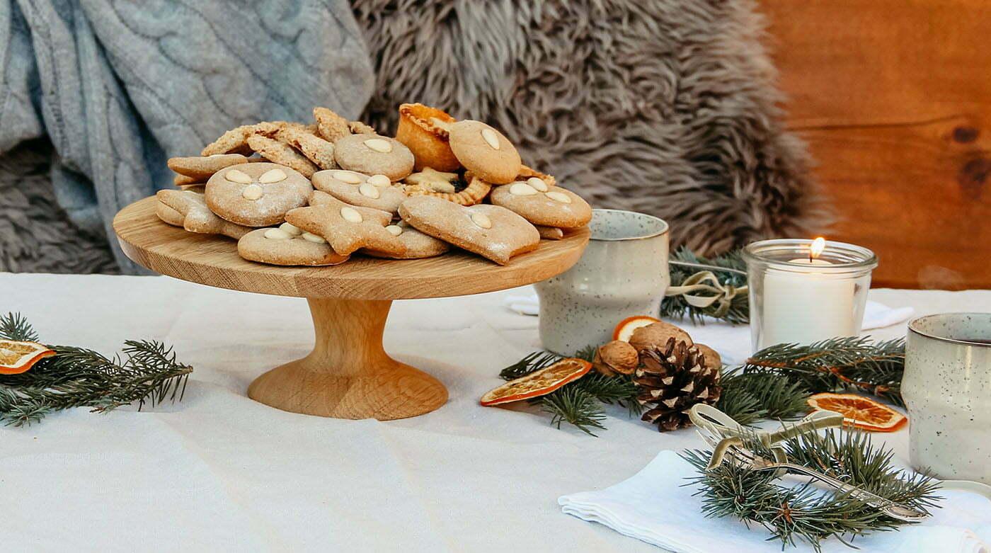 Statt Weihnachtsmarkt: Ein Adventspicknick im Wald