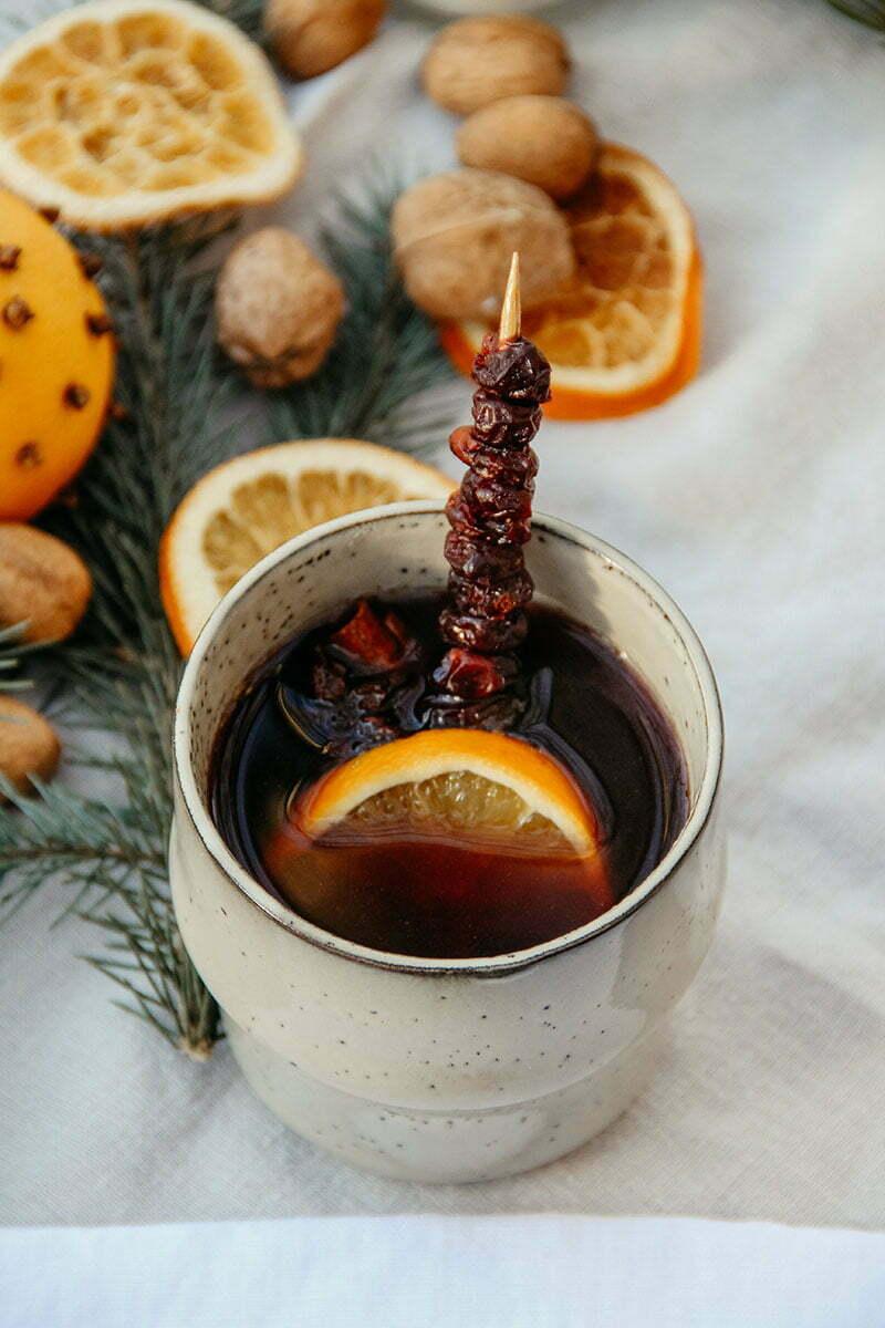 Fruchtiger Orangenpunsch (alkoholfrei)
