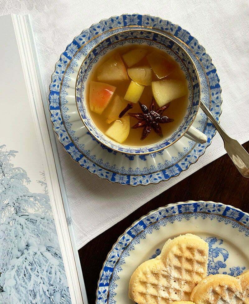 Hello Snow: Rezept für Apfel-Orangen-Punsch