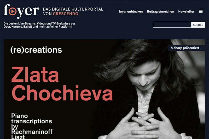 Das digitale Kulturportal foyer.de