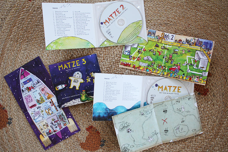 Kinder-Jazz-CD: Matze mit der blauen Tatze