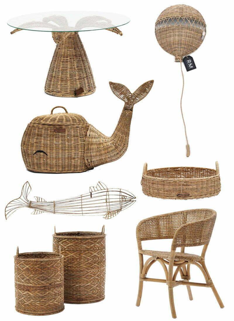 Möbel und Deko aus Rattan von Rivièra Maison