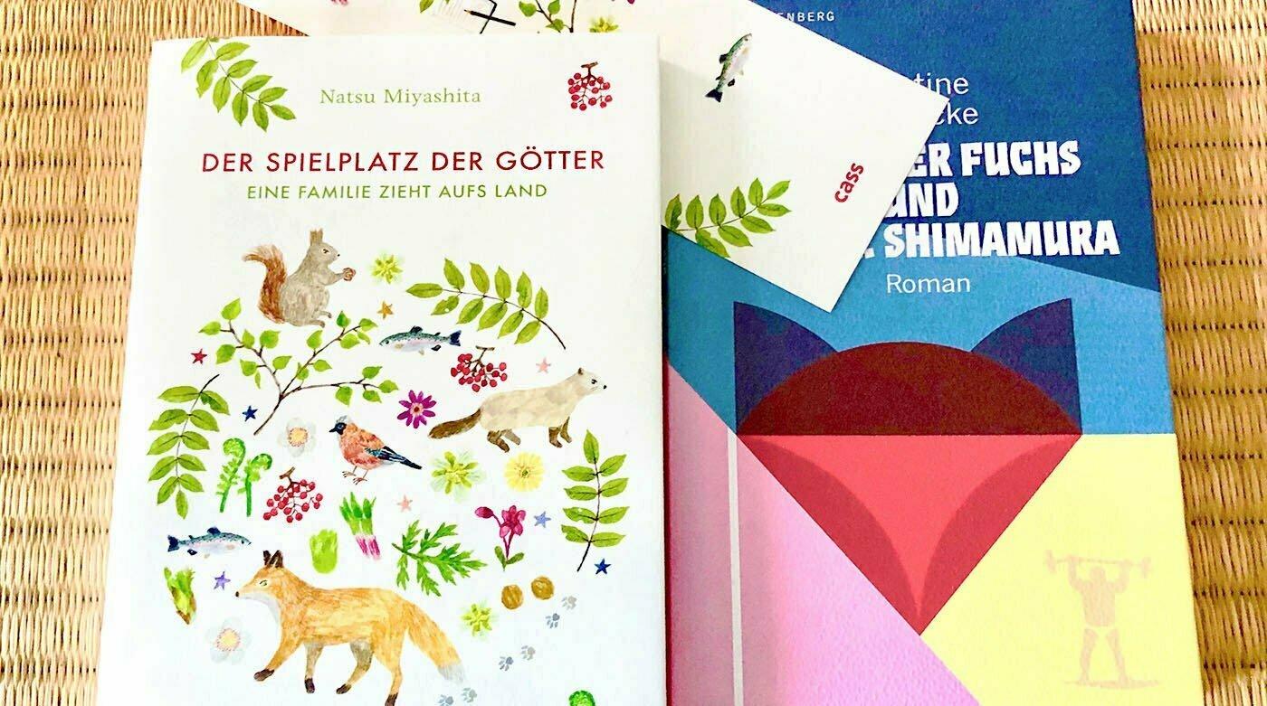 Bücher über Japan: Spielplatz der Götter, Fuchs und Dr. Shimamura
