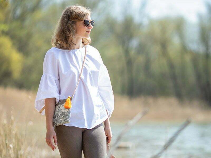 """Daniela Uhrich trägt die byMi Bluse """"Cute Explosion"""""""