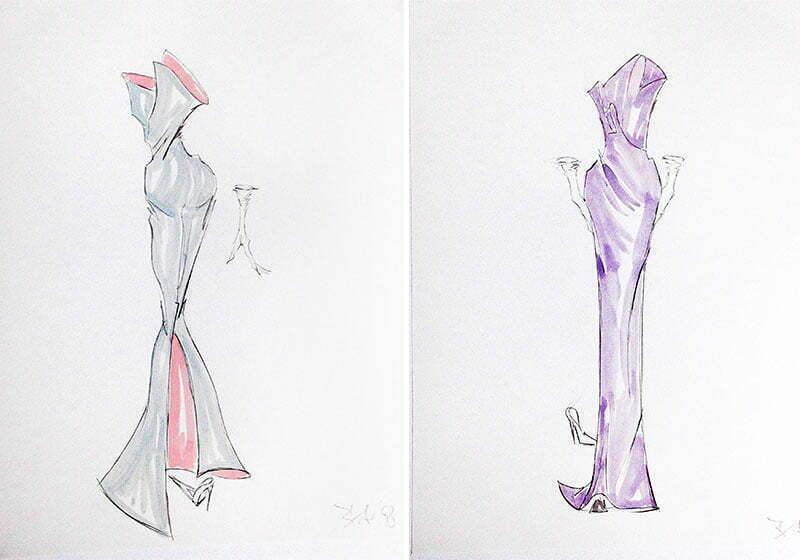 Modedesigner Henner Buse: Eine Kollektion für Prinzessin Diana