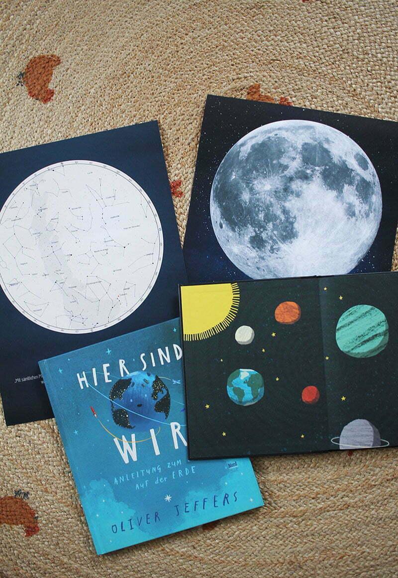 Positive Prints: Sternenkarten & Mond-Poster