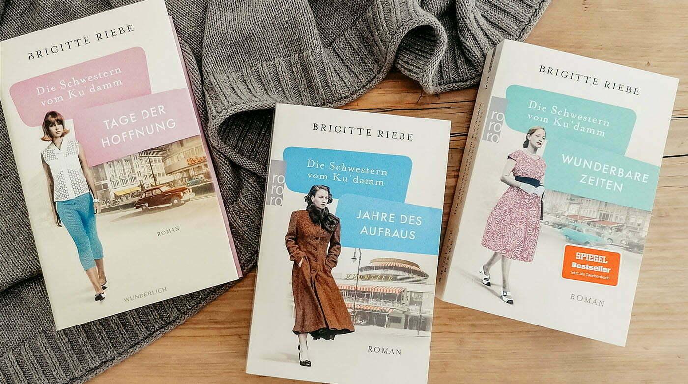 Die Schwestern vom Ku'damm von Brigitte Riebe