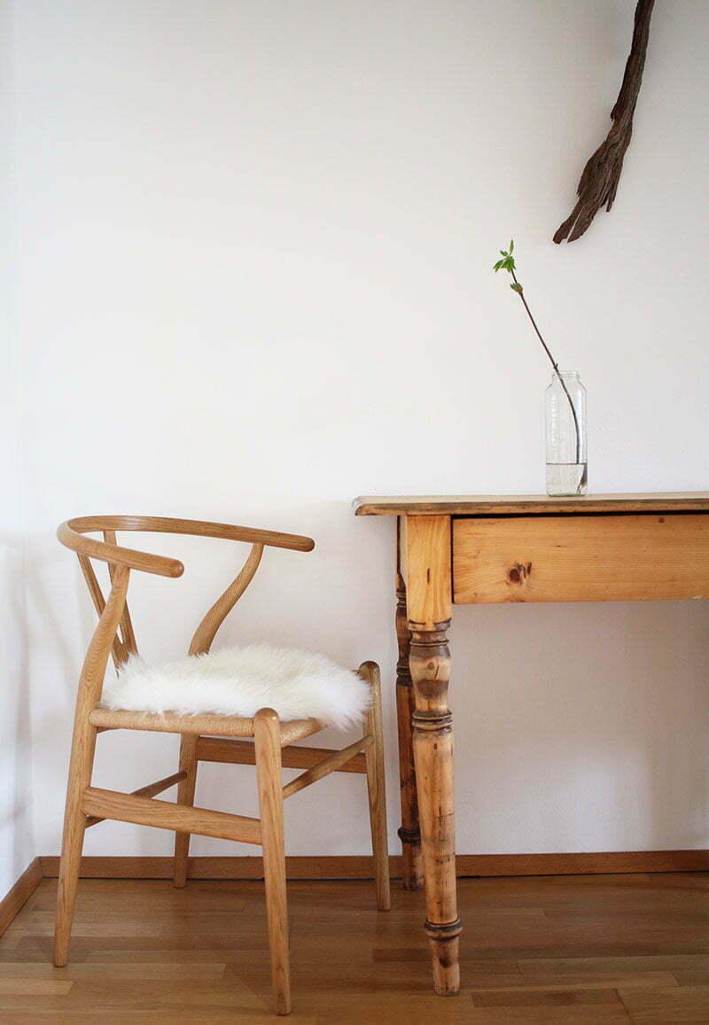 Natures Collection: Kuscheliger Schutz für den Wishbone Chair