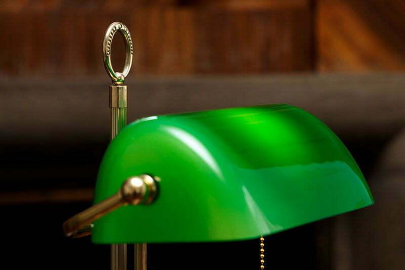 Bankers Lamp: Ein Lampen-Klassiker
