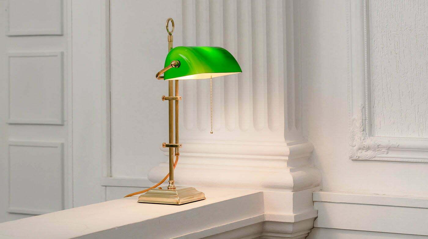 Die Bankers Lamp: Ein Klassiker unter den (Schreibtisch-) Lampen