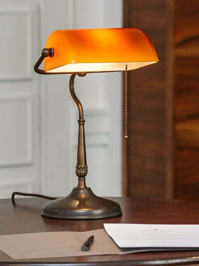 Lampen-Klassiker: Die Bankers Lamp