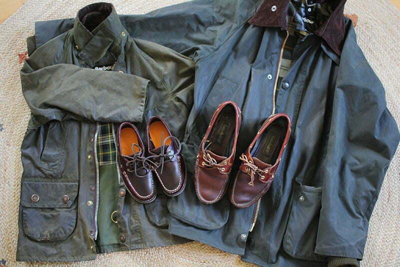 Preppy-Mode für Kinder: Barbourjacke und Bootsschuhe