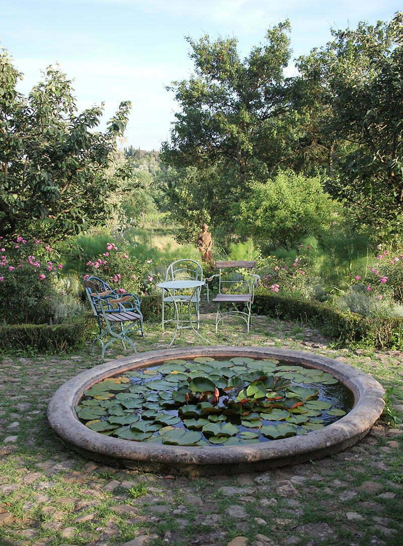 Locanda Casanuova: Wunderschöner Garten