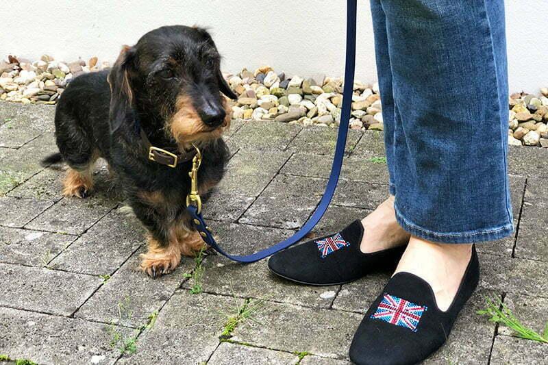 Hunde-Halsband und Leine von Stilhütte