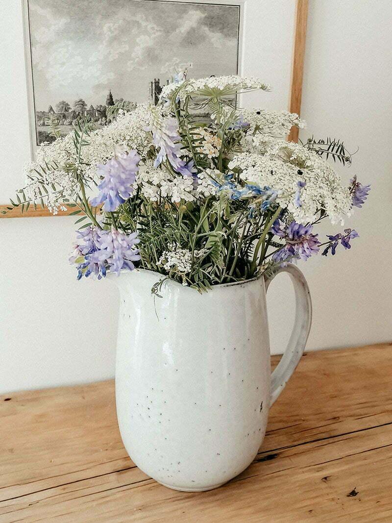 Strauß Wildblumen mit Wilder Möhre