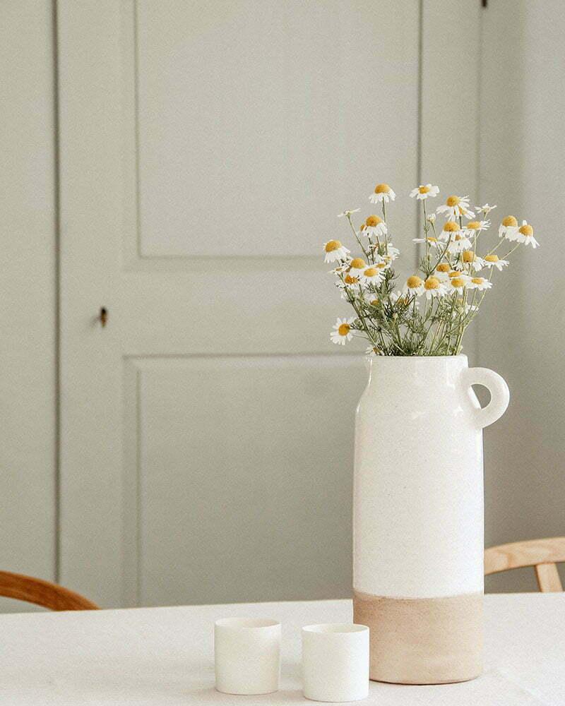 Wildblumenstrauß mit Kamille