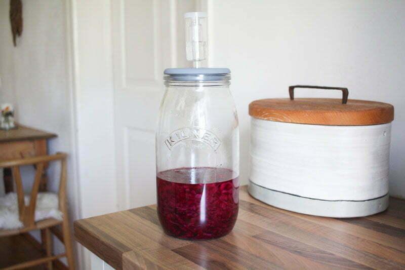 Rotkohl weihnachtlich fermentierten - unser Rezept